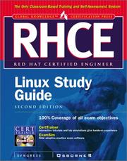 Cover of: RHCE Red Hat Certified Engineer Linux Study Guide | Syngress Media