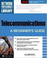 Cover of: Telecommunications | Hill Associates Inc