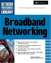 Cover of: Broadband Networking | Glen Carty
