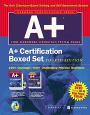Cover of: A+(R) Certification Boxed Set | Syngress Media