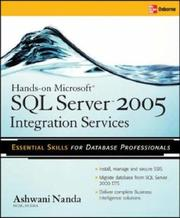 Cover of: Hands-On SQL Server 2005 Integration Services | Ashwani Nanda