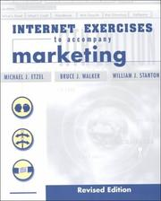 Cover of: Marketing Internet Exercise by Etzel