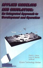 Cover of: Applied Modeling and Simulation by David J. Cloud