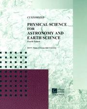 Cover of: Astronomy and Earth Sciences | Tillery