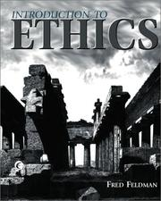 Cover of: Introduction to Ethics | fred feldman