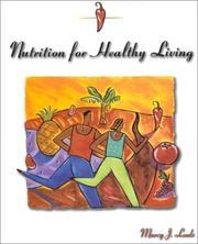 Cover of: Nutrition Healthy Living | LEEDS