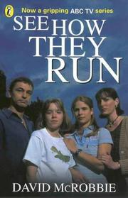 Cover of: See How They Run | David McRobbie