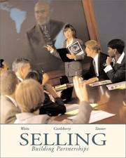 Cover of: Selling by Barton Weitz