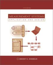 Cover of: Measurement Systems | Ernest Doebelin