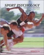 Cover of: Sport Psychology: Concepts and Applications with PowerWeb | Richard H Cox