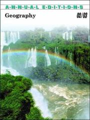 Cover of: Geography 2002-2003 | Gerald R. Pitzl