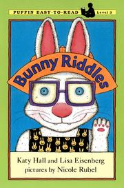 Cover of: Bunny Riddles by Katy Hall