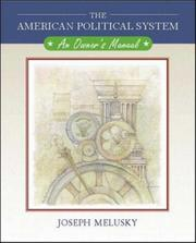 Cover of: American Political System plus Powerweb American Government, MP | Joseph A Melusky