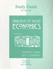 Cover of: Study Guide t/a Principles of Microeconomics | John Mogab