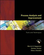 Cover of: Process Analysis and Improvement by SEPPANEN