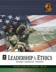 Cover of: MSL 302 Leadership and Ethics Textbook | ROTC Cadet Command
