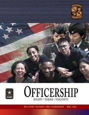 Cover of: MSL 402 Officership Textbook | ROTC Cadet Command
