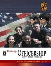 Cover of: MSL 402 Officership Workbook by ROTC Cadet Command