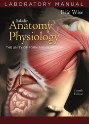 Cover of: Anatomy and Physiology Laboratory Manual t/a by Eric Wise