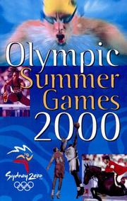 Cover of: Olympic Summer Games 2000 | Unauthored