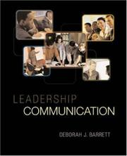 Cover of: Leadership Communication (Titles in Business Communication) | Deborah Barrett