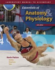 Cover of: Laboratory Manual to accompany Seeley's Essentials of Anatomy and Physiology | Kevin T. Patton