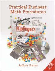 Cover of: Practical Business Math Procedures | Jeffery Slater