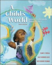 Cover of: A Child's World | Olds
