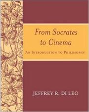 Cover of: From Socrates to Cinema | Jeffrey  R. Di Leo