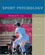 Cover of: Sport Psychology by Richard H Cox