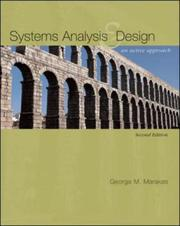 Cover of: Systems Analysis & Design | George Marakas