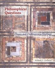 Cover of: Philosophical Questions with PowerWeb | William Lawhead