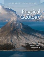 Cover of: Laboratory Manual for Physical Geology by James Zumberge by James H Zumberge