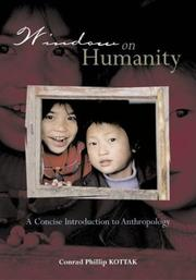 Cover of: Window on Humanity | Conrad Kottak