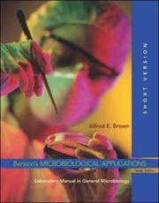 Cover of: Benson's Microbiological Applications by Alfred E Brown