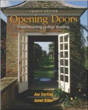 Cover of: Opening Doors with Free Student CD-ROM | Joe Cortina