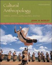 Cover of: Cultural Anthropology | John Bodley
