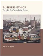 Cover of: Business Ethics | Kevin Gibson