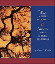 Cover of: Ways of Being Religious with Shinto Ways of Being Religious and PowerWeb | Gary E. Kessler