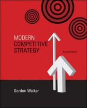 Cover of: Modern Competitive Strategy by Gordon Walker