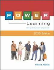 Cover of: POWER Learning 2005 with PowerText | Robert S Feldman