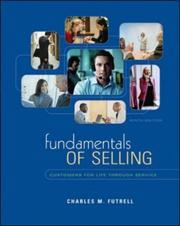 Cover of: Fundamentals of Selling | Charles M. Futrell