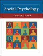 Cover of: Social Psychology with PowerWeb by Jonathon D. Brown