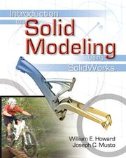 Cover of: Introduction to Solid Modeling | William E. Howard
