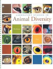 Cover of: Laboratory Studies in Animal Diversity by Cleveland P. Hickman, Jr.