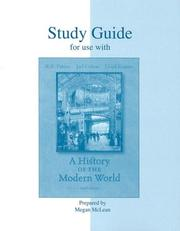 Cover of: Study Guide t/a History of the Modern World | Lloyd Kramer