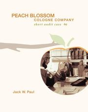 Cover of: Peach Blossom Cologne Company with CD by Jack W Paul