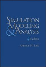 Cover of: Simulation Modeling and Analysis with Expertfit Software | Averill Law