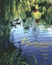 Cover of: Chemistry by Katherine J Denniston