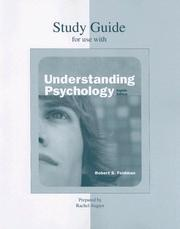 Cover of: Student Study Guide for use with Understanding Psychology | Robert S. Feldman